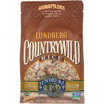 Lundberg Family Farms Country Wild Gourmet Blend Brown Rice - 1 Lb -PACK 6