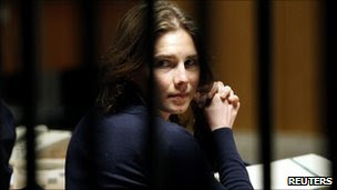 Amanda Knox in court, March 12 2011