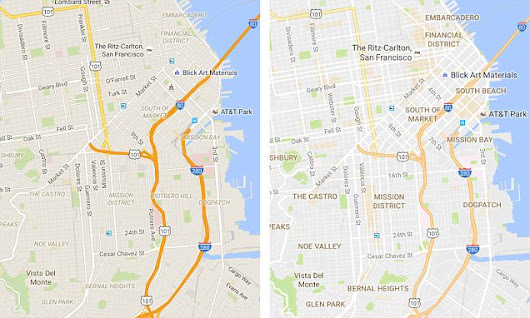 Google Maps has a fresh new look