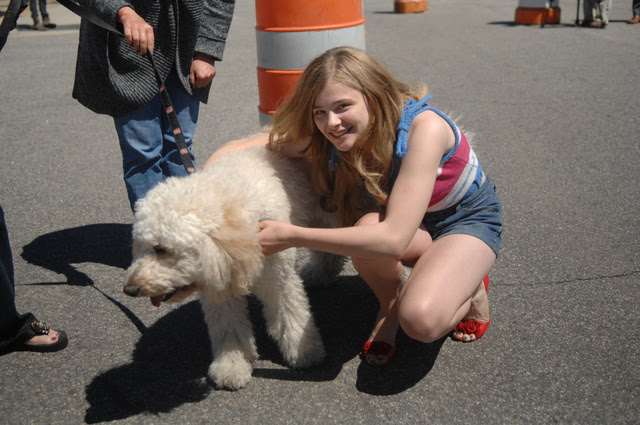 "On the set of ""Hick"" (April 7th, 2011) - chloe-moretz photo"