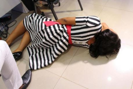 Panic as Female Candidate Faints During UNILAG's Post-UTME Exercise