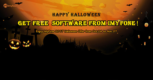 Get free software from iMyFone Halloween Giveaway 2017