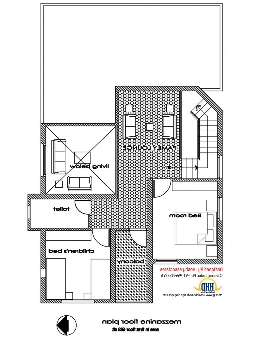 1200 Sq  Ft  House  Plan  In Tamilnadu  Joy Studio Design