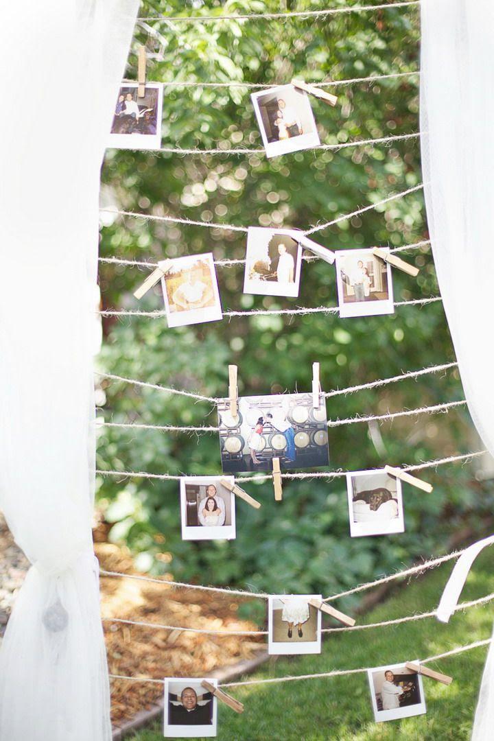 Backyard wedding decorating ideas uk