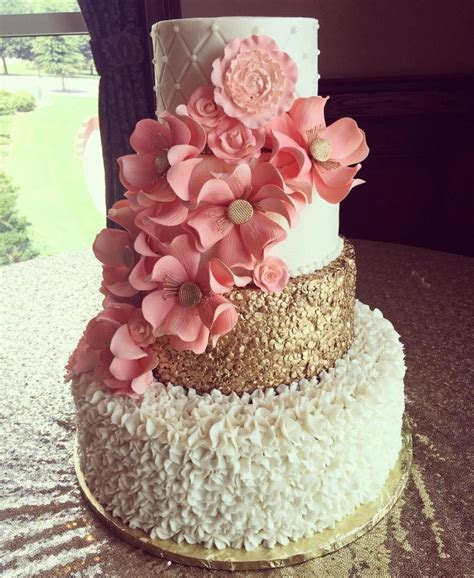 Wedding Cakes and Custom Cake Orders With Pastries and a
