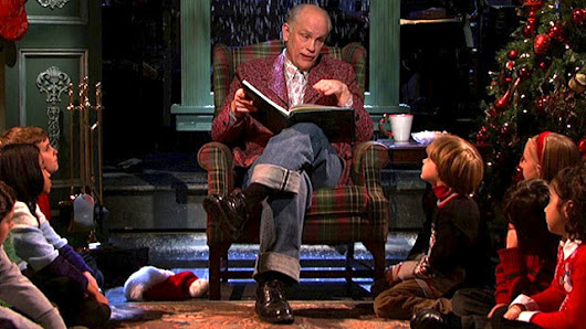 watch monologue john malkovich reads twas the night before christmas from saturday night live - John Malkovich Snl Christmas