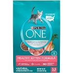 Purina ONE Healthy Kitten Formula Premium Dry Cat Food - 3.5lb bag