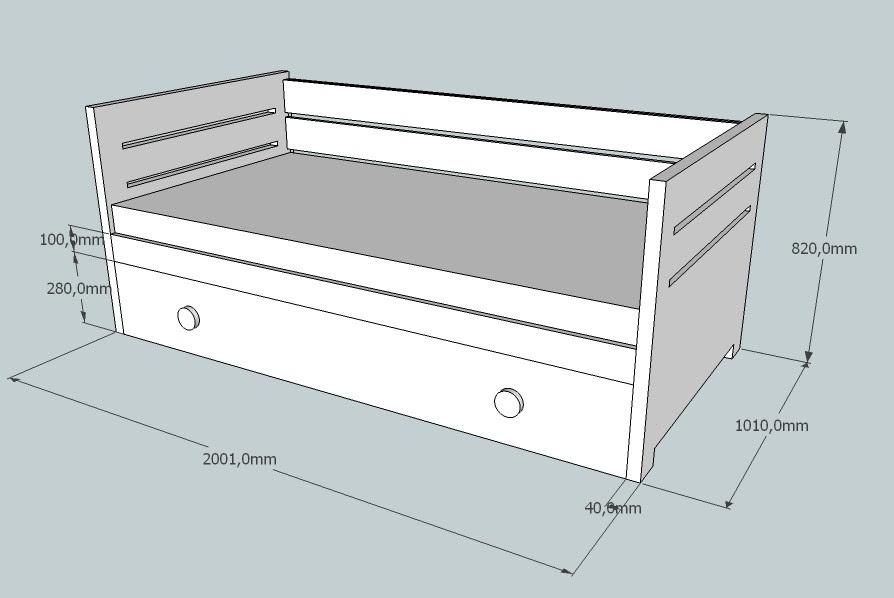 Dormitorio muebles modernos medidas de camas nido for Cama queen size cuanto mide