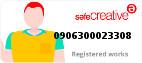 Safe Creative #0906300023308