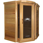 Saunacore PR5X5-CORNER Infrared Sauna Infracore Premium