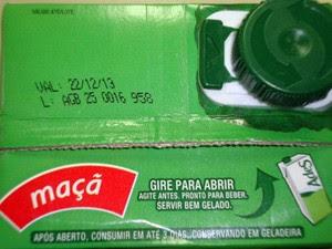 Lote da bebida foi recolhido por fabricante (Foto: Airton Sinto/Arquivo Pessoal)