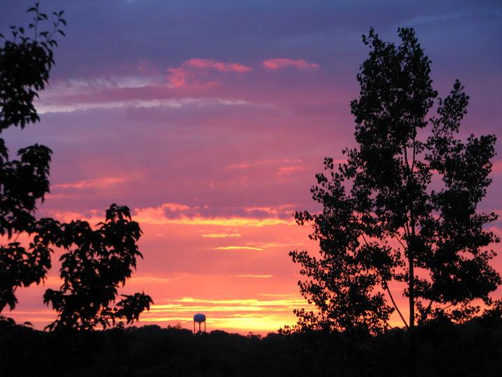 Sunset - June 2010