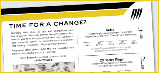 Progressive Components: Your One Stop Source for Date Marking Products