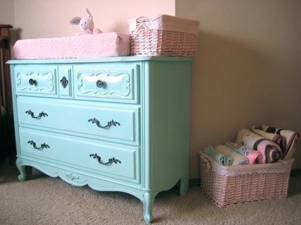 Muebles viejos pintados de colores, una alternativa original y ...