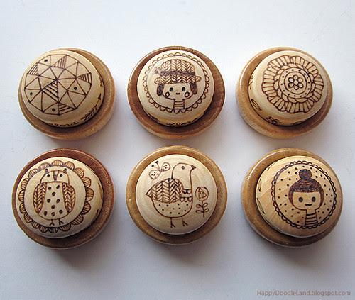 Little Burnt Buttons