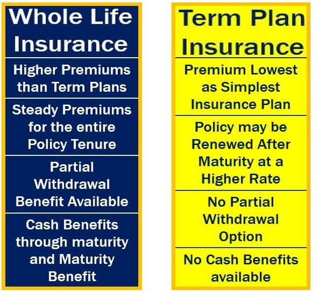 Whole life insurance - definition and meaning - Market ...