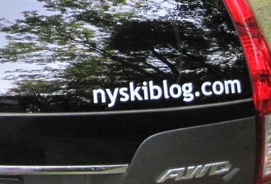 NYSkiBlog Die-Cut Stickers Are Here. | NY Ski Forums