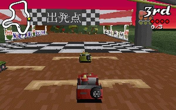 Big Red Racing Depart