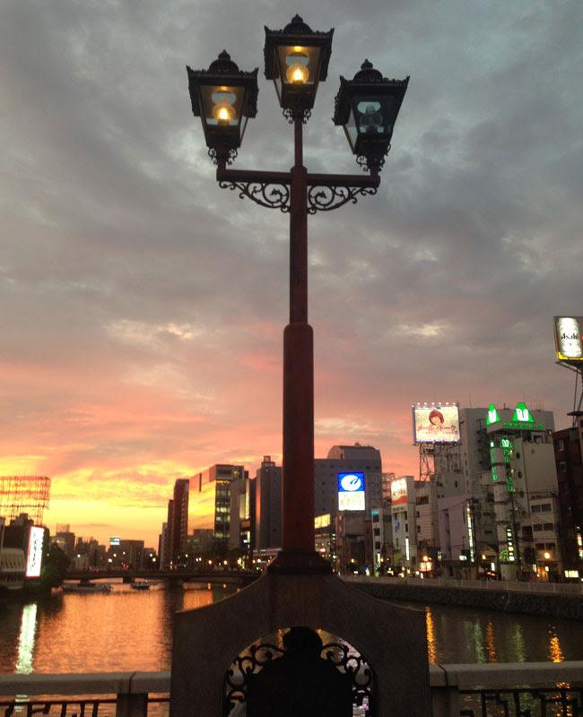 福岡意外と身近にあった福岡にある3つのガス灯 Y氏は暇人