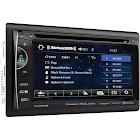 "Power Acoustik PH-620SXMB In-dash DVD Receiver - 6.2"" Touch Display"