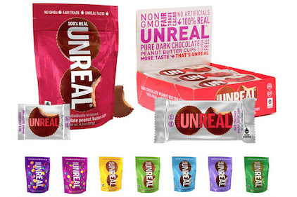 Unreal relaunches line of unjunked candy