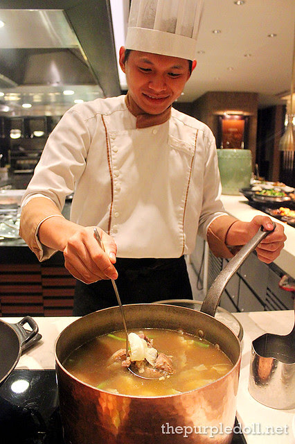 Filipino Bulalo at Spiral Sofitel