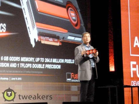 AMD previews FirePro W9000 graphics, possibly throws in dualchip Radeon HD 7990 for good measure