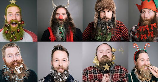 Ho-ho-hair: The 12 beards of Christmas