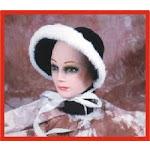 Alexanders Costumes 53-070 Dickens Caroler Bonnet