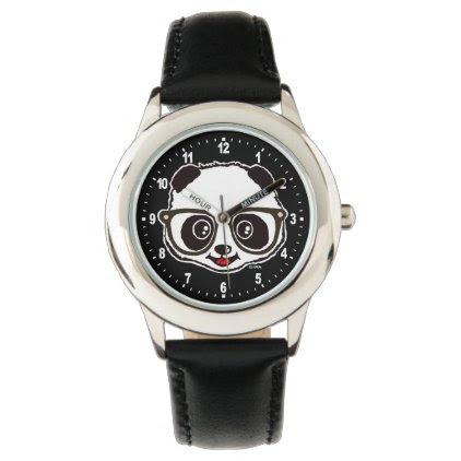 Cute Panda Wristwatches