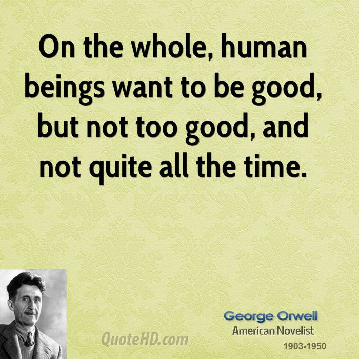 George Orwell Time Quotes Quotehd