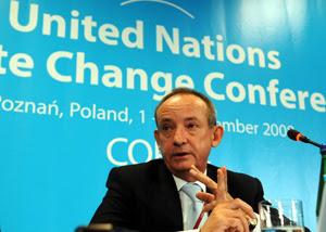 El secretario de la ONU para el Cambio Climático, Yvo de Boer. (Foto: AP)