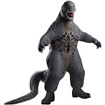 Rubies Godzilla Deluxe Inflatable Child Costume, Medium