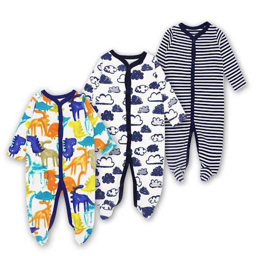 d2bc42665 Chance Description for Brand 3pcs Baby Romper Full Sleeve Soft Cotton Newborn  Baby Clothing Cartered Infant Pajamas Clothes Jumpsuit