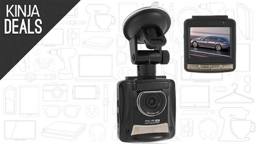 Be Prepared For the Worst With This $40 Dashcam.