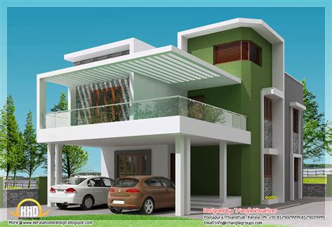 beautiful modern simple indian house design  sqft