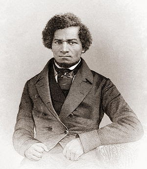 Portrait of Frederick Douglass as a younger ma...