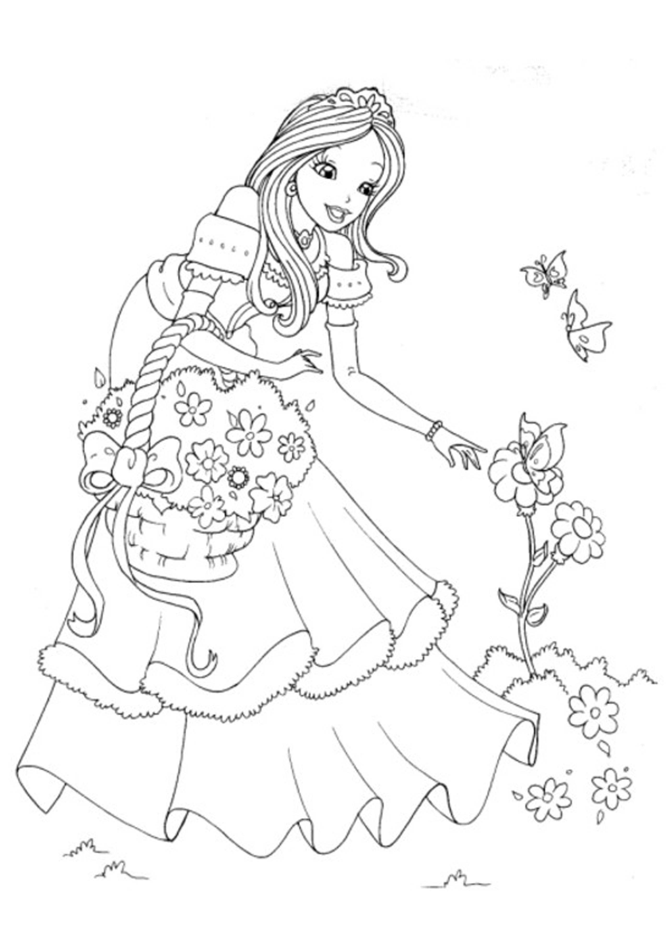 62 Printable Coloring Pages Of Disney Princesses Download Free Images