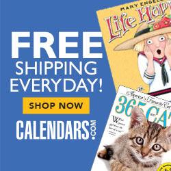 Shop Calendars.com Now!