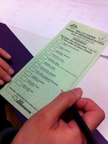 Australian Election Experience (2010)