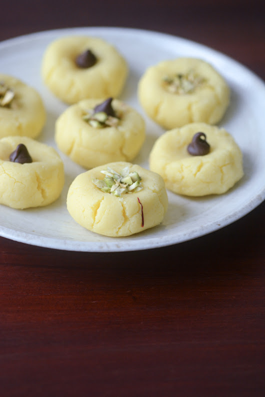Milk peda with milk powder, instant milk peda recipe - Edible Garden