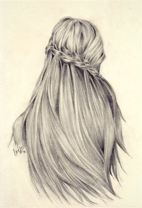 beauty hairstyle  drawing drawing tips pinterest