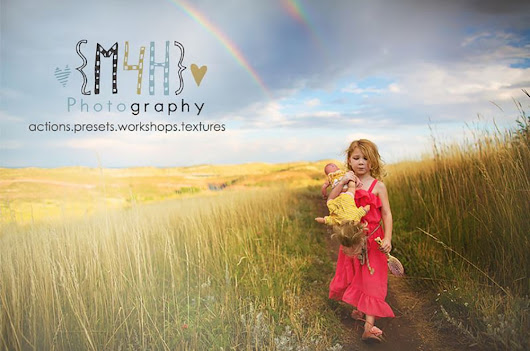 8 Days of Giveaways! Day 2:  $100 gift card for My Four Hens Photography Actions or Presets