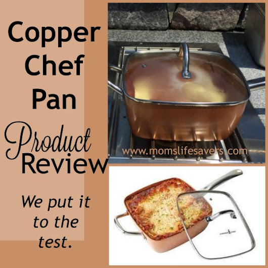 Copper Chef Cookware is a Mom's Lifesaver - Mom's Lifesavers