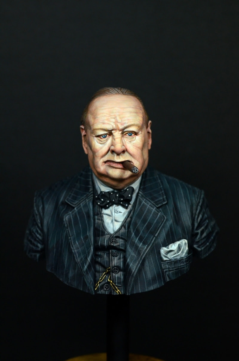 Winston Churchill by MH-Hwang