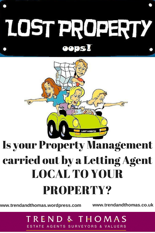 Is your Property Management carried out by a Letting Agent LOCAL TO YOUR PROPERTY?