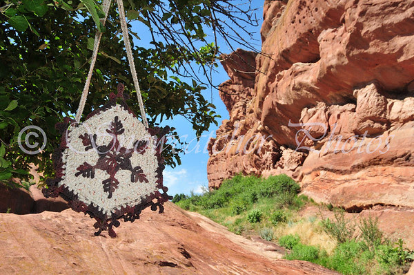 Cinnamon Pass Snowflake Purse at Red Rocks