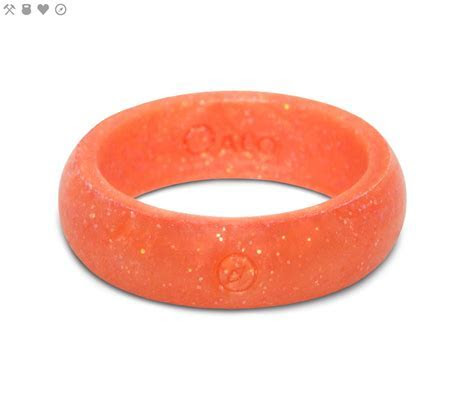 The QALO Pearlescent Silicone Rings are so much more than