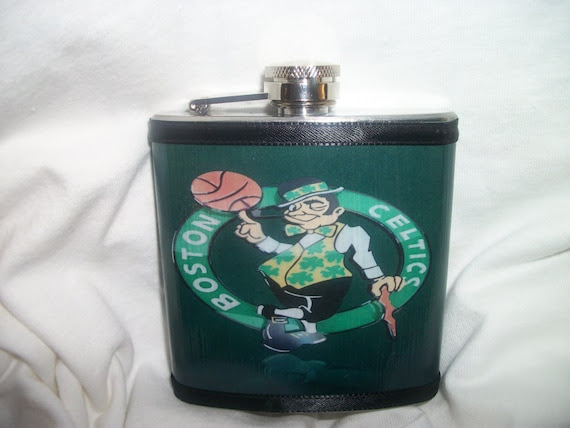 Boston Celtics Flask.