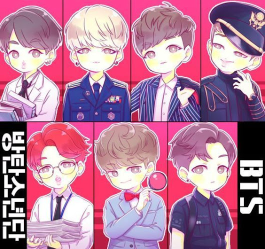 BTS And Anime